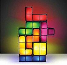 Quadratische Puzzle Lichter stapelbare LED