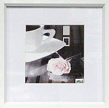 Quadratischer Bilderrahmen 30x30 weiß/white