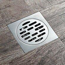 Quadratischer Duschablauf, Badfliesen-Einsatz