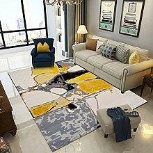 Quadratischer Teppich, moderner europäischer und