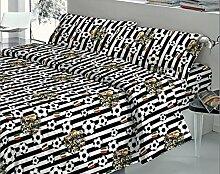 Quadrifoglio komplett Bettwäsche-Set für