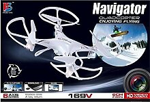 QUADROCOPTER Navigator 169V Drohne mit Kamera, 6