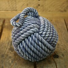 Qualität Blau Seil Türstopper ~ 12cm Türstopper