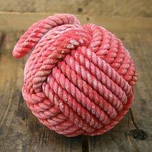 Qualität Rot Seil Türstopper ~ 15cm Türstopper Seemannsknoten
