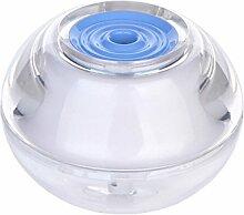 Qualitäts-USB-bewegliche Acrylkristall Luftbefeuchter Ultraschall-Luftbefeuchter Aromazerstäuber Luft Nachtlicht LED-Luftreiniger(blau)