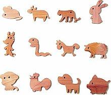 Qualitell Tierzeichen Tier Zeder Kleiderbügel