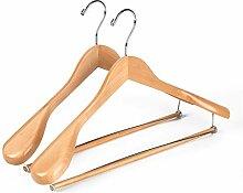 Quality Hangers exklusiver Holz Anzug