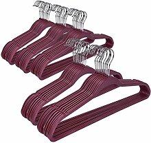Quality Hangers Kunststoff Non Velvet, Nicht