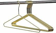 Quality Hangers schöne Gold Aluminium Metall
