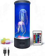 Quallen-Lavalampe, 3D lebensechte Quallen Aquarium