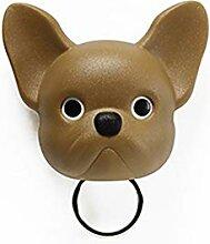QUALY Frenchy Dog Schlüssel-Halter