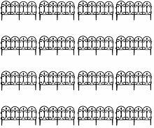 Quantio Beeteinfassung - Kunststoff, schwarz, 60,5