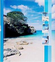 Quantio HENZO Jumbo Fotoalbum Insel - 100 Seiten