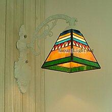 Quartett Tiffany-Lampen minimalistische