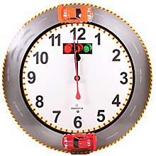 Quartz Racing Wall Clock - Wanduhr Autorennen
