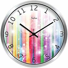 Quarz Uhr Tisch/Moderne Wanduhr/Wohnzimmer Stille Uhr-B 12Zoll
