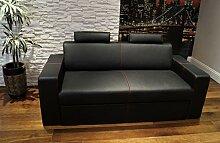 Quattro Meble Echtleder 2,5 Sitzer Sofa Antalya I