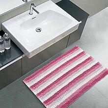 Quattropassi R10066Badteppich, Mikrofaser, Pink,