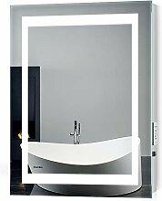Quavikey Badezimmerspiegel LED Rechteckig Licht