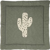 Quax Krabbeldecke Baumwolle Kaktus 100x100 cm