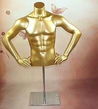 Qubeat Männlicher Torso, gold