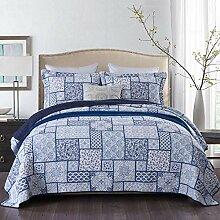 Qucover Tagesdecke aus Baumwolle, Bettüberwurf