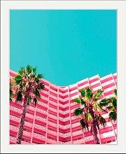queence Bild Hotel 50x60 cm bunt Bilder mit Rahmen