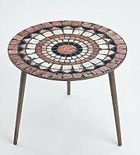 Queence Design-Tisch/runder