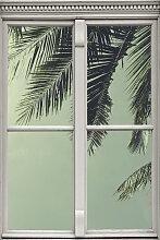 queence Wandsticker Palmenblätter 40x0,1x60 cm