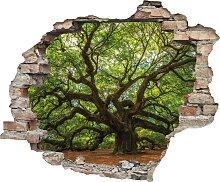 queence Wandtattoo Baum (1 Stück) 60x0,1x50 cm