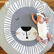 Queta Babydecke, Cartoon-Babydecke, runder