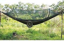 Queta Camping Hängematte mit Moskitonetz
