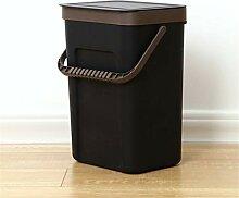 Queta Mülleimer für die Küche, Kunststoff,