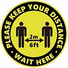"""""""Queue Distance Social Distance Series"""","""