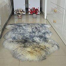Quibine Echter Schaffell-Teppich mit Dicke Wolle