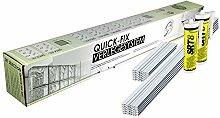 QUICK-FIX Verlegesystem für 10 Glassteine – im Format 19x19x8 cm