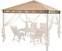 QUICK STAR Ersatzdach 3x3m Stil Pavillon Sand
