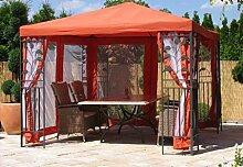 QUICK STAR Garten Blätter Pavillon 3x3m Terra