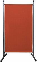 Quick-star - Paravent 180 x 78 cm Stoff Raumteiler