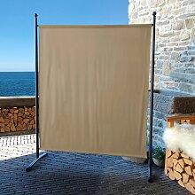 Quick Star Paravent B/H: 150 cm x 190 beige