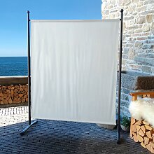Quick Star Paravent B/H: 150 cm x 190 weiß