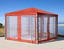 QUICK STAR Rank Pavillon Set 3x3m Terra mit 4