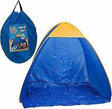 Quick Up 2m Strand Zelt mit Sonnenschutz in Tragetasche einfach montieren Camping Shelter Sun Schatten