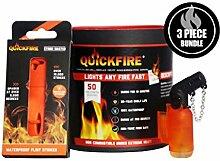 QuickFire Feueranzünder mit Butan, 1 x