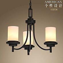 Quietness @ Anhänger Beleuchtung moderne LED-Leuchter Creative Industries Loft Hängeleuchte für Esszimmer Schlafzimmer Wohnzimmer Lager 5 Leiter