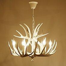 Quietness @ Anhänger Beleuchtung moderne LED-Leuchter Creative Industries Loft Hängeleuchte für Esszimmer Schlafzimmer Wohnzimmer Lager 9 Leiter