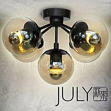 Quietness @ Moderne LED-Leuchter Creative Industries Loft Hängeleuchte für Esszimmer Schlafzimmer Wohnzimmer Lager 5 Leiter der normalen LED-3w Lichtquelle