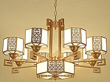 Quietness @ Moderne LED-Leuchter Creative Industries Loft Hängeleuchte für Esszimmer Schlafzimmer Wohnzimmer Lager 3 Leiter