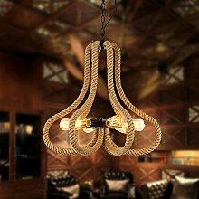 Quietness @ Moderne LED-Leuchter Creative Industries Loft Hängeleuchte für Esszimmer Schlafzimmer Wohnzimmer Lager 6 Leiter mit Edison die Glühbirne