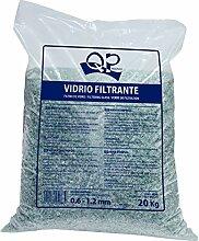 QUIMICAMP Filterglas fürs Schwimmbecken, 20kg